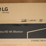 LG 4Kモニター 27UD58-B レビュー