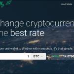 【仮想通貨】Changellyでビットコインとアルトコインを交換すると手数料が安いからお得