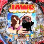 P JAWS再臨 SHARK PANIC AGAIN 設定付 設定示唆演出