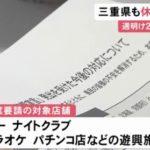 茨城県、京都府、三重県がパチンコ店などへの休業要請を決定